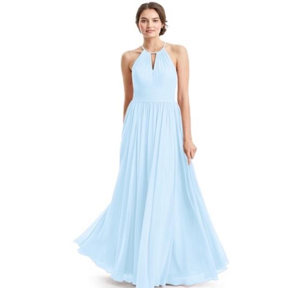 Azazie Dresses | Sky Blue Bridesmaid Dress | Poshmark
